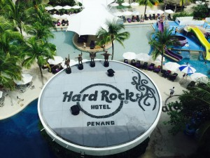 Hard Rock Penang, Poolside