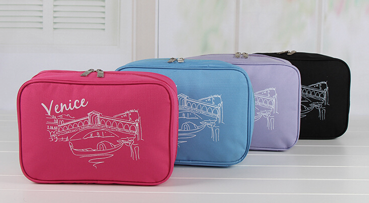 Custom Makeup Travel Toiletry Promotional Fashion Cosmetic Bags