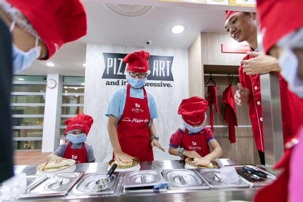 Kidzania Pizza Hut